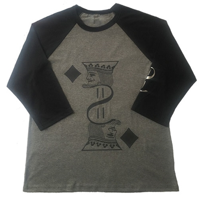 King Of Diamond Baseball Tee