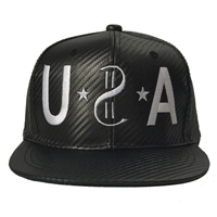 USA Carbon Fiber Snap Back