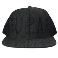 USA Trucker Snap Back