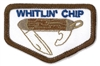 Whitlin' Chip (iron-on)