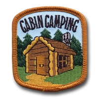 Cabin Camping (iron-on)