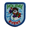 Holiday Event (iron-on)