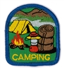 Camping (iron-on)