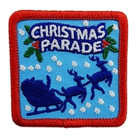 Christmas Parade (iron-on)