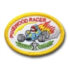 Pinewood Racer (iron-on)