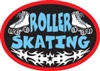 Roller Skating (iron-on)