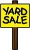 Yard Sale (iron-on)