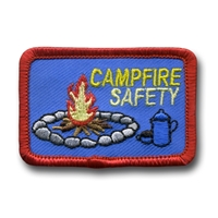 Campfire Safety (iron-on)