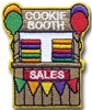Cookie Booth Sales