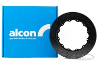 ALCON 355MM DIAMETER X 35.5MM THICK ROTOR PREBEDDED 48 VEIN LH