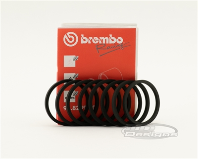 105722444 BREMBO CALIPER PISTON SEAL 36mm 8 PACK XA9K601/02, LOTUS