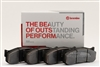 BRP1-1980.22B BREMBO BRP1 COMPOUND BRAKE PADS
