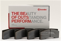 BRP3-2022.20B BREMBO BRP3 COMPOUND BRAKE PADS