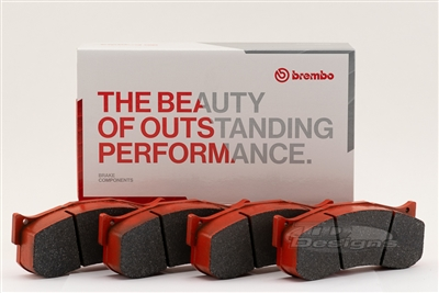 BRP78-1980.22B BREMBO BRP78 COMPOUND BRAKE PADS