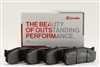 BRP79-1980.22B BREMBO BRP79 COMPOUND BRAKE PADS