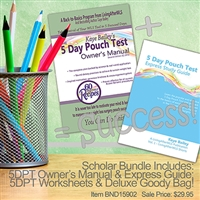 5DPT Scholar Bundle