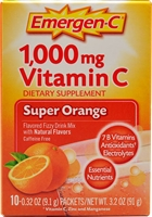 Emergen-C Super Orange 10-Servings