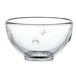 Glass Bowl with Bee 5.75in. diameter, 20oz.