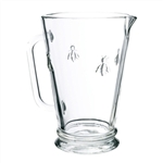 Glass Pitcher with Bee 4 cup