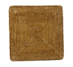 Square Rattan Placemat 15 inch
