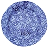 Blue Calico 10 inch Dinner Plate