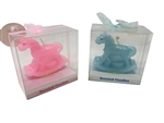 "Clearance - 2.75"" Baby Rocking Horse - Scented Candle (With Gift Box) (12)"