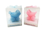 "Clearance - 2.75"" Baby Carriage Scented Candle (With Gift Box) (12)"