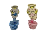 "Clearance - 3"" Spring Bobble Favor - Angel #0532 (12)"