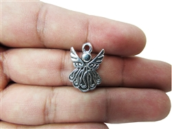 "Miniature 0.75"" Angel Metal Charm (18)"