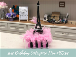 (NEW) 2018 - Birthday Centerpiece Idea #BDC002