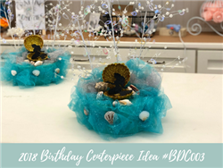 (NEW) 2018 - Birthday Centerpiece Idea #BDC003