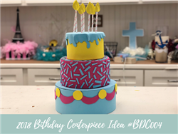 (NEW) 2018 - Birthday Centerpiece Idea #BDC004