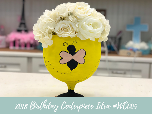 (NEW) 2018 - Birthday Centerpiece Idea #BDC005