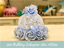 (NEW) 2018 - Birthday Centerpiece Idea #BDC006