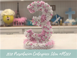 (NEW) 2018 - Birthday Centerpiece Idea #BDC007