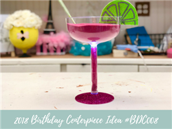 (NEW) 2018 - Birthday Centerpiece Idea #BDC008
