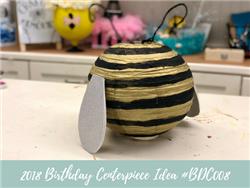 (NEW) 2018 - Birthday Centerpiece Idea #BDC009