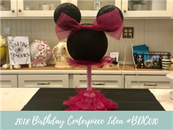 (NEW) 2018 - Birthday Centerpiece Idea #BDC010
