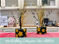 (NEW) 2018 - Birthday Centerpiece Idea #BDC011