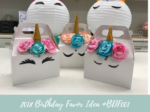 (NEW) 2018 - Birthday Favor Idea #BDF001