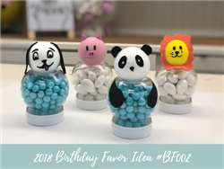 Birthday Favor Idea #BDF002