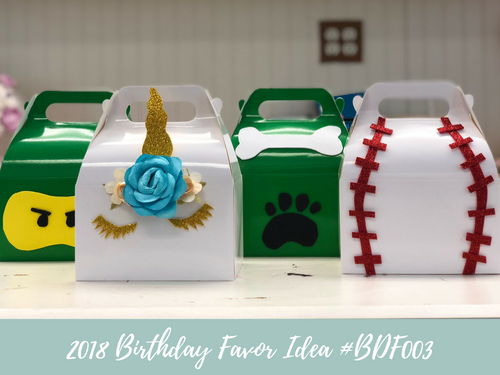 (NEW) 2018 - Birthday Favor Idea #BDF003