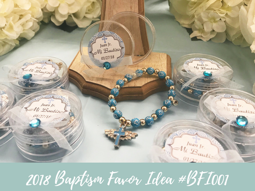(NEW) 2018 - Baptism Party Favor Idea #BF001