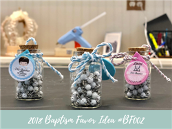 (NEW) 2018 - Baptism Party Favor Idea #BF002