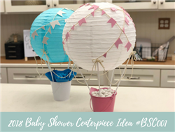 (NEW) 2018 - Baby Shower Centerpiece Idea #BSC001