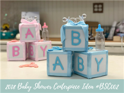 (NEW) 2018 - Baby Shower Centerpiece Idea #BSC002