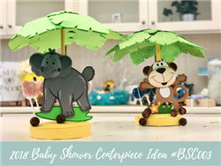 (NEW) 2018 - Baby Shower Centerpiece Idea #BSC003