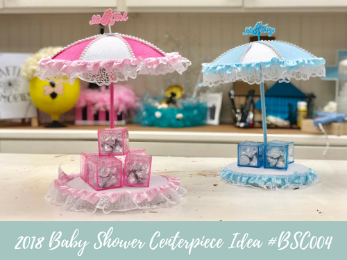(NEW) 2018 - Baby Shower Centerpiece Idea #BSC004