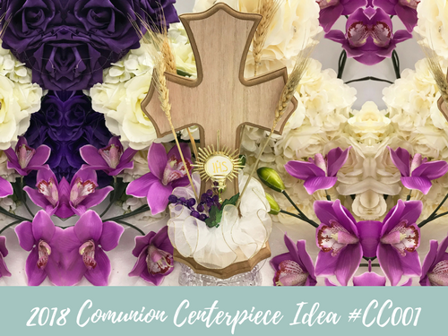 (NEW) 2018 - Communion Centerpiece Idea #BCC001