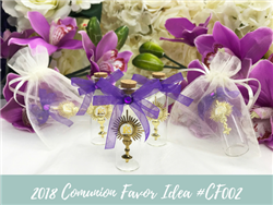 (NEW) 2018 - Communion Party Favor Idea #CF002